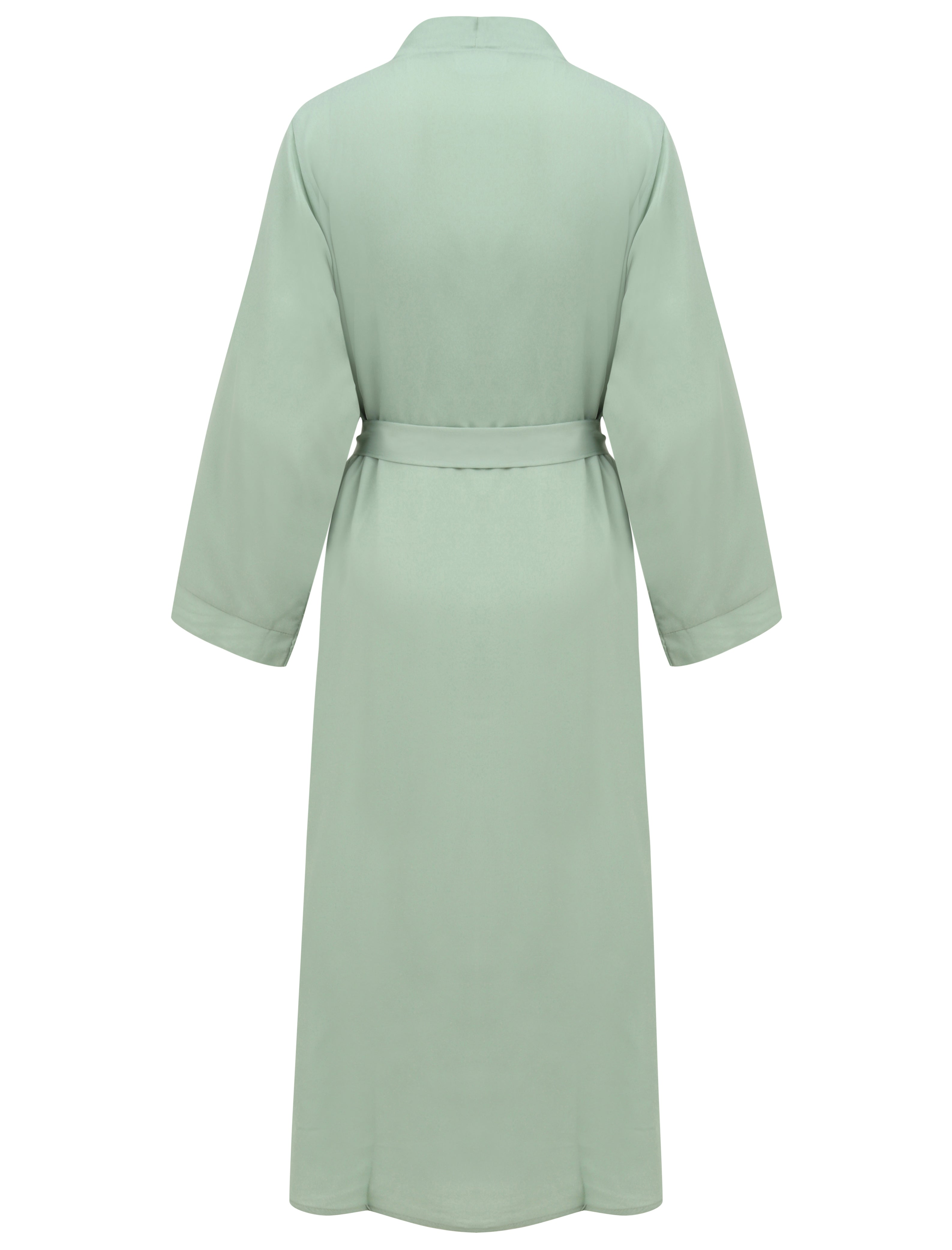 Pale Mint Open Abaya
