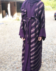 Luxury Abaya with a modern twist. Modest Fashion. Sale abaya £15.00