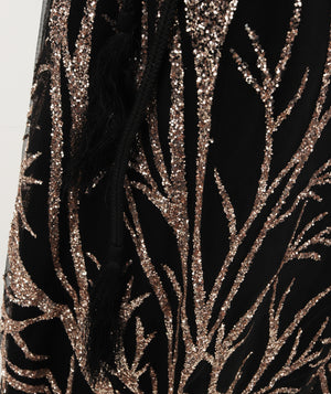 Net Evening Dress