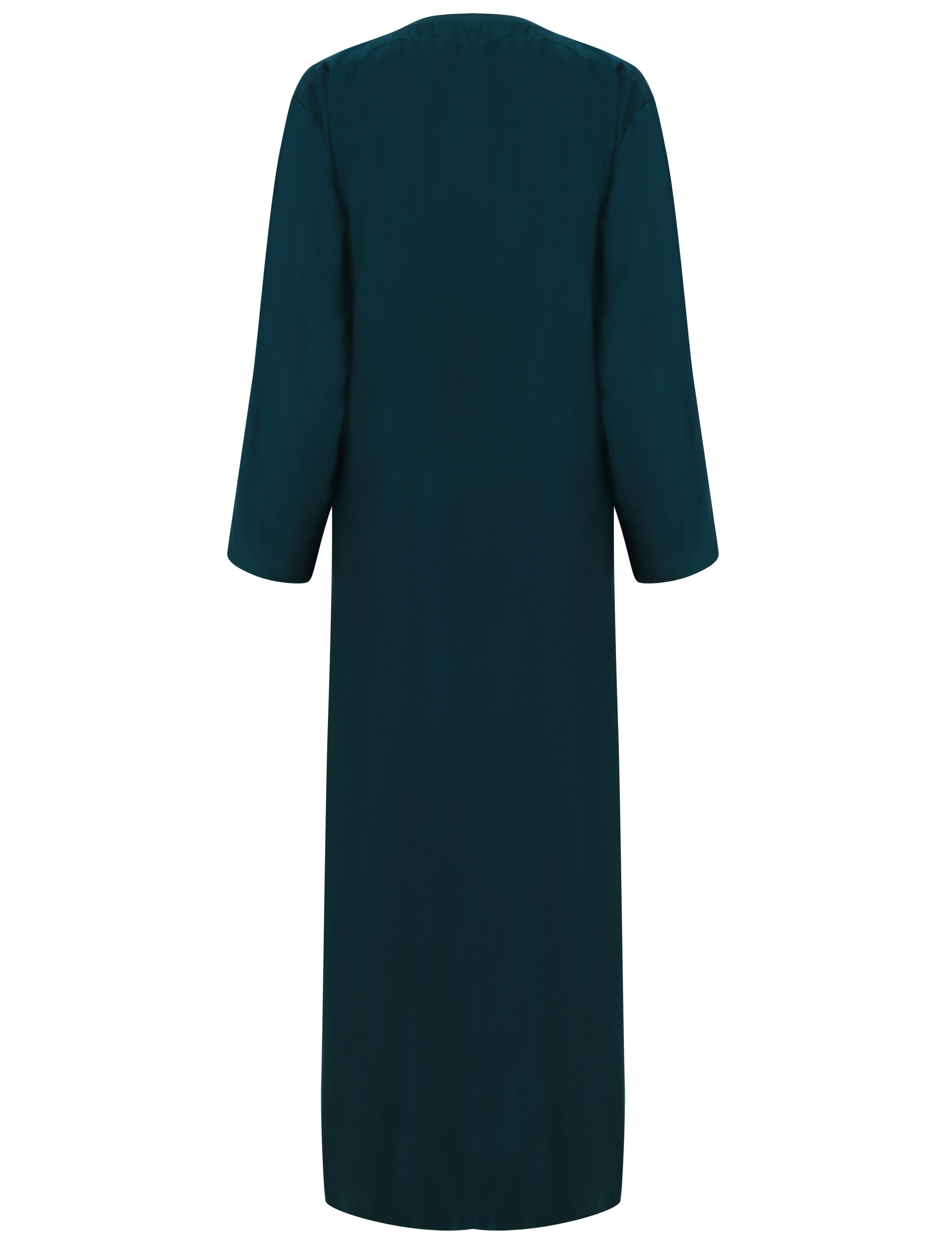 Bottle Green Wrap Abaya