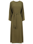 Abaya, Jilbab, Modest Fashion, khaki