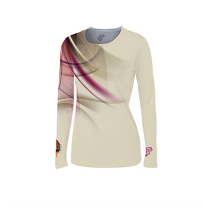 "Female ""Fly Fishing"" Fitted Long Sleeve"