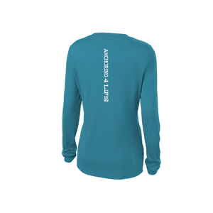 "Female ""Sailfish"" Fitted Long Sleeve"