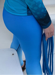 Faded Ocean Blue Legging
