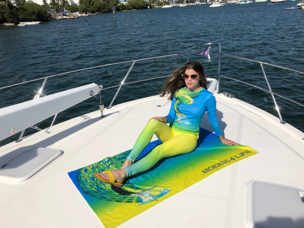 Mahi-mahi Oversized Beach Towel