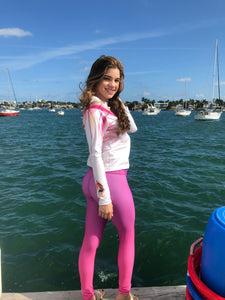 Faded Fuchsia Legging