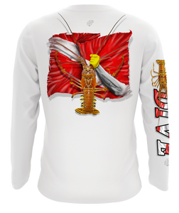Spiny Lobster Long Sleeve Dive Shirt