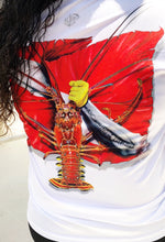 Spiny Lobster Female Long Sleeve Dive Shirt