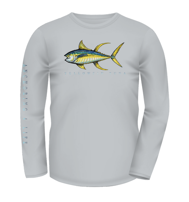 Yellowfin Tuna Sketch Collection