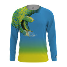 Solar Protection Female Shirt UPF 50+ Splashing Mahi-Mahi