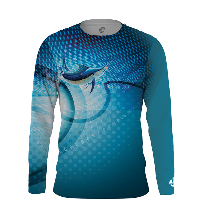 Solar Protection Men Shirt UPF 50+ Sailfish