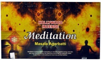 Hollywood Meditation Incense (Box)