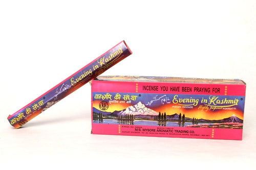 Evening In Kashmir Incense Sticks (Box)