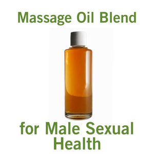 Massage Oil for Male Sexual Health (4oz)