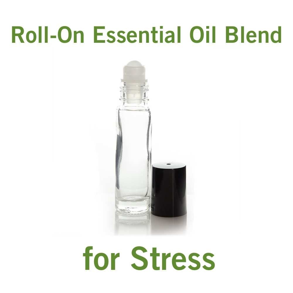 Roll-On Essential Oil Blend for Stress