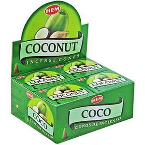 Cones - Coconut (Box)