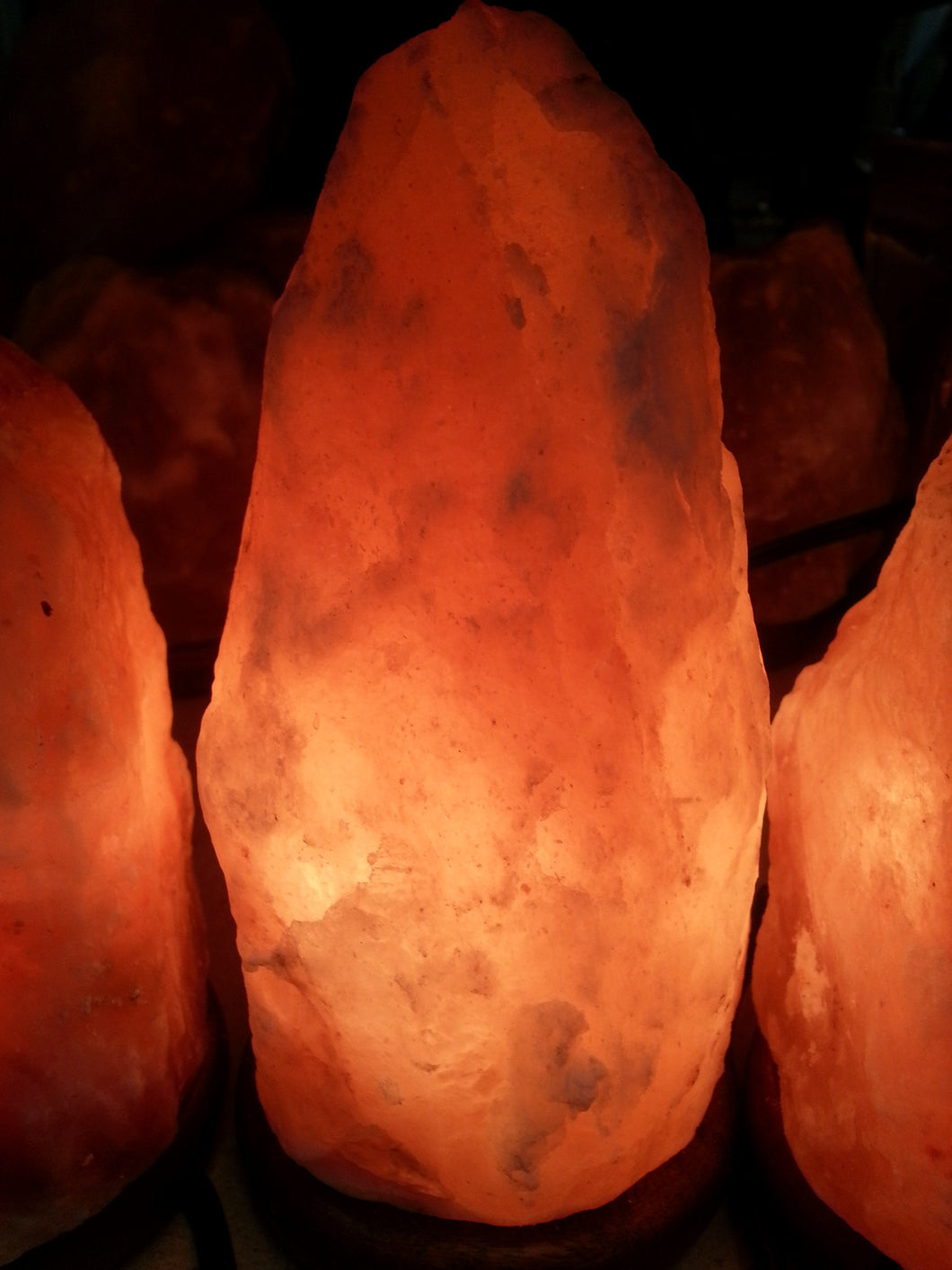 Oval Salt Lamp (Medium Size)