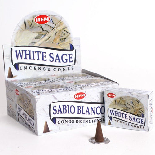 Cones - White Sage (Box)