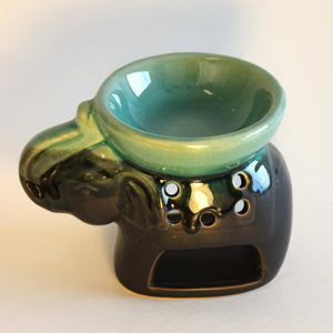 Elephant Oil Warmer - Blue