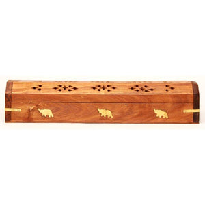 Wooden Incense Coffin Box