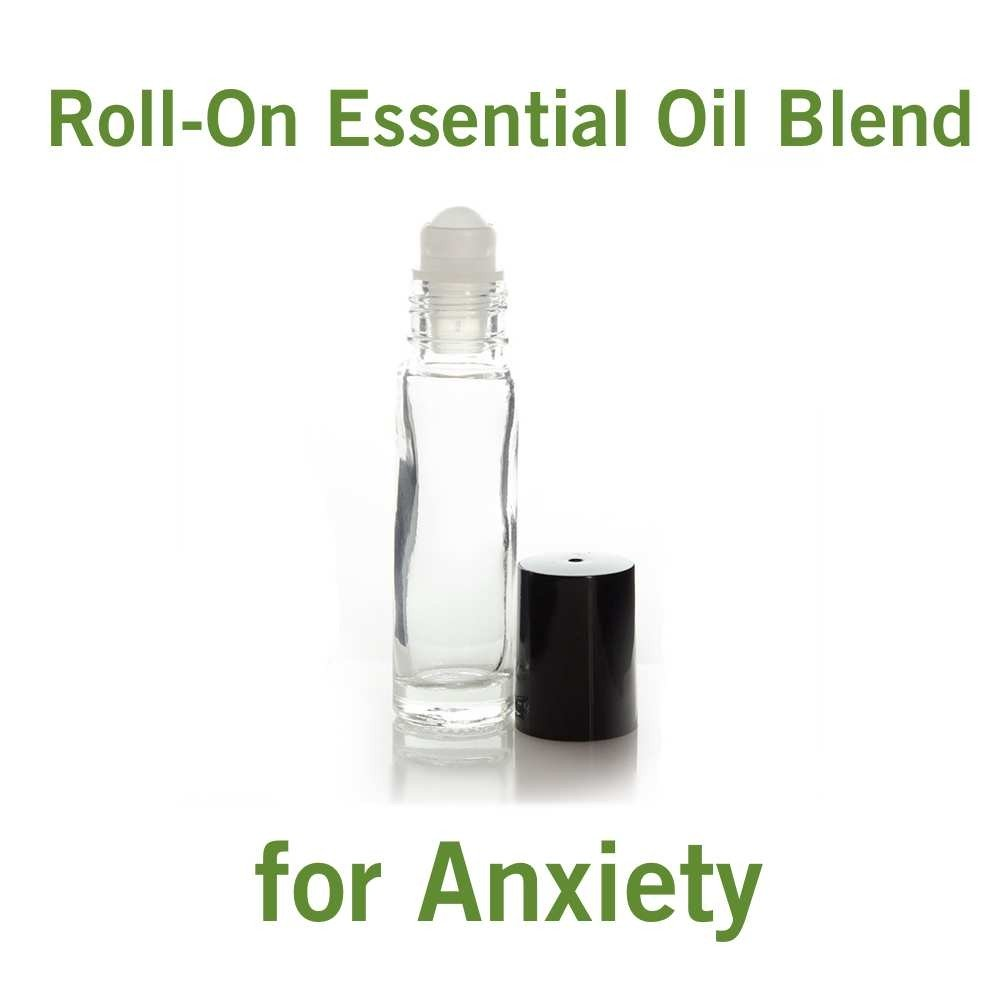 Roll-on Essential Oil Blend for Anxiety (1/3 oz)