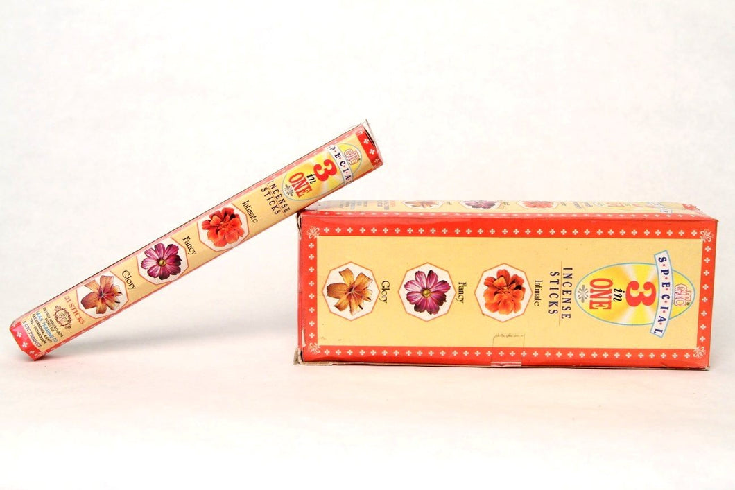 Precious 3-in-1 Incense Sticks (Box)