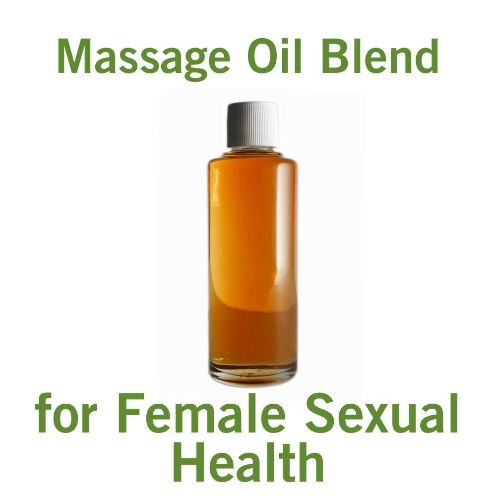 Massage Oil for Female Sexual Health (4oz)
