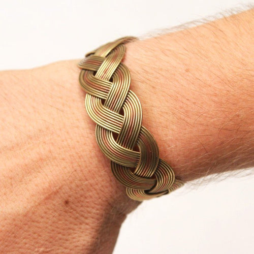 Triple-Metal Bracelets (Copper, Brass & Electrostatic Silver)