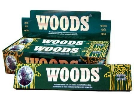Woods Incense 15g (BOX)
