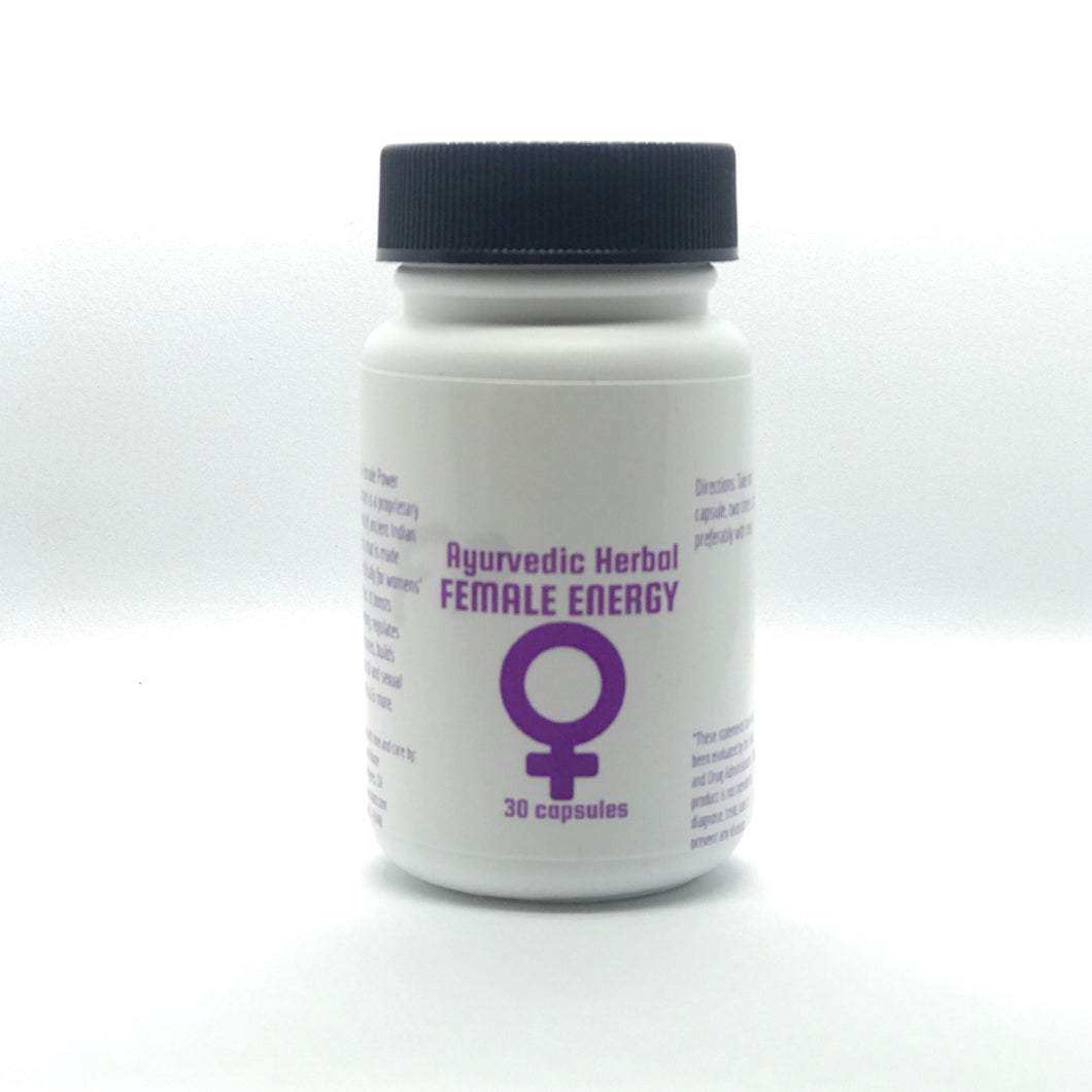 Ayurvedic Female Energy Booster Capsules