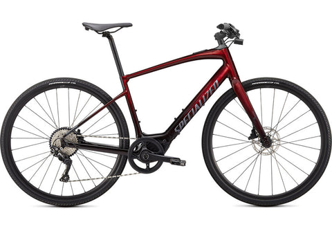 2020 Specialized Turbo Vado SL 4.0 Crimson Red Tint / Black