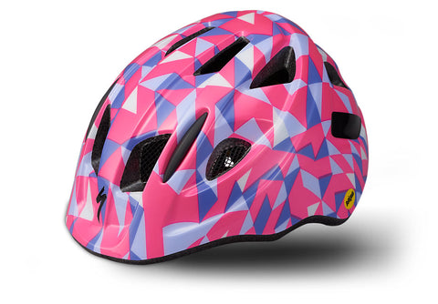 Specialized Mio Toddler MIPS Helmet Acid Pink Geo