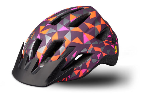 Specialized Shuffle Child LED MIPS Helmet Cast Berry Geo