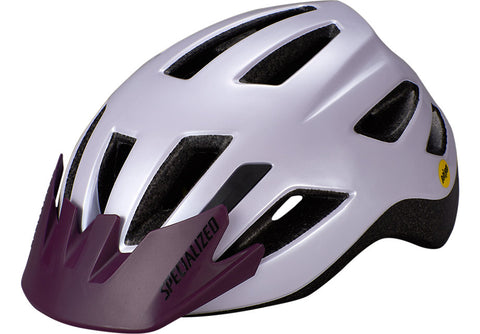 Specialized Shuffle Child LED MIPS Helmet UV Lilac / Cast Berry