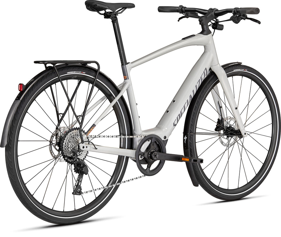 MY21 Specialized Turbo Vado SL 4.0 Equipped Dove Gray / Acid Lava