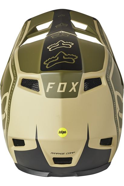 Fox Rampage Comp Helmet - Tan