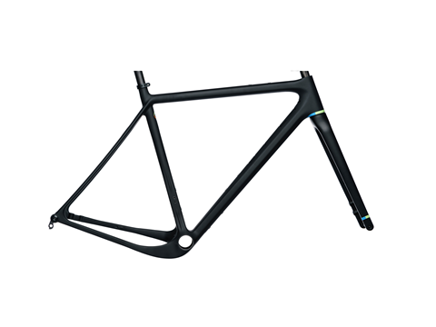 2019 Open Upper Gravel Plus Frame Set Matte Black