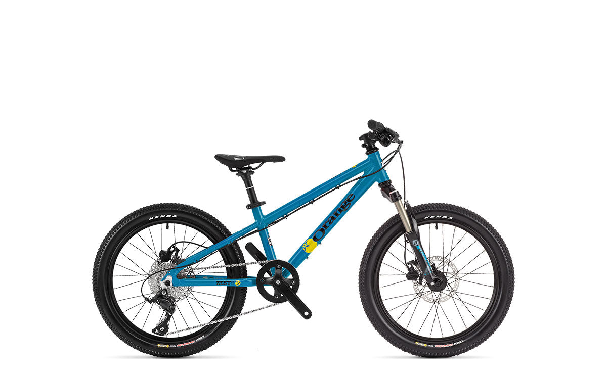 Orange Zest 20 Suspension Fork - Tropical Blue