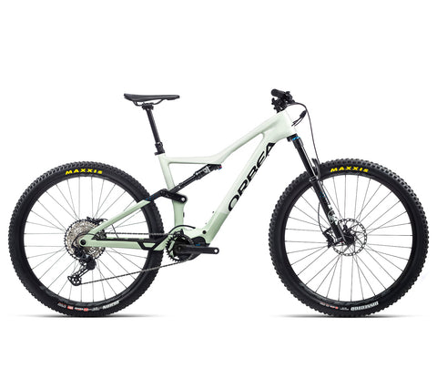 Orbea Rise - M20 - With Upgrades - Sap White / Green Fog