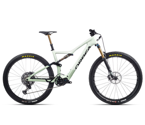 Orbea Rise - M Ltd - Sap White / Green Fog