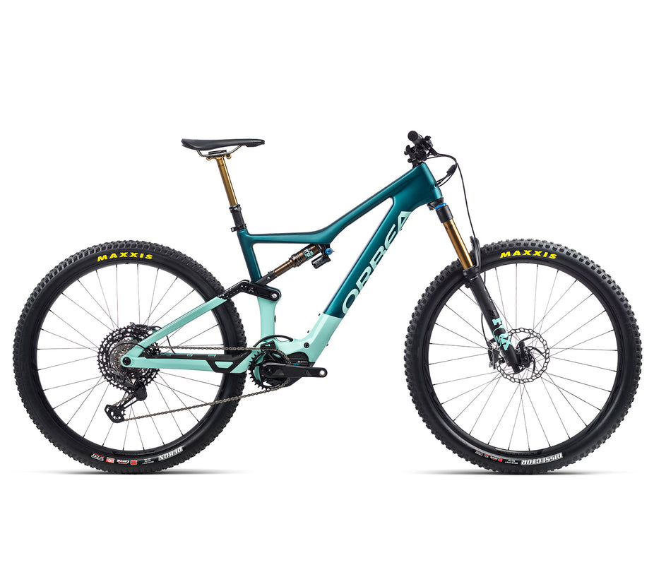 Orbea Rise - M Team - Ice Green / Ocean