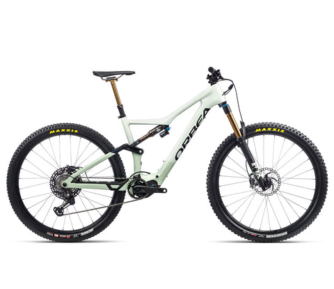 Orbea Rise - M Team - Sap White / Green Fog