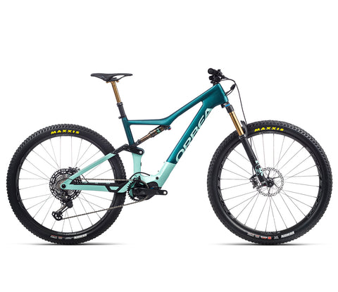 Orbea Rise - M Ltd - Ice Green / Ocean