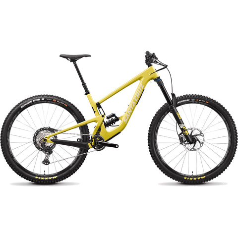 MY21 Santa Cruz Megatower Carbon C - XT Build - Yellow