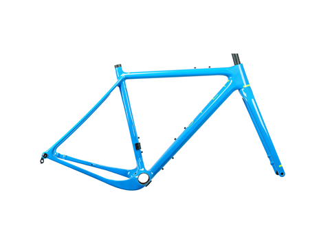 2019 Open Up Gravel Plus Frame Set Blue