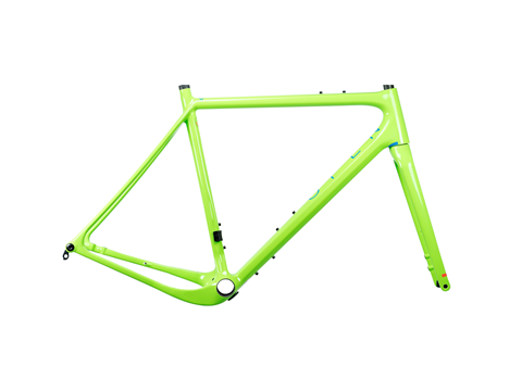 2019 Open Up Gravel Plus Frame Set Green