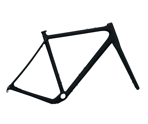 Open Wide Gravel Frame Set Ready to Paint (RTP)
