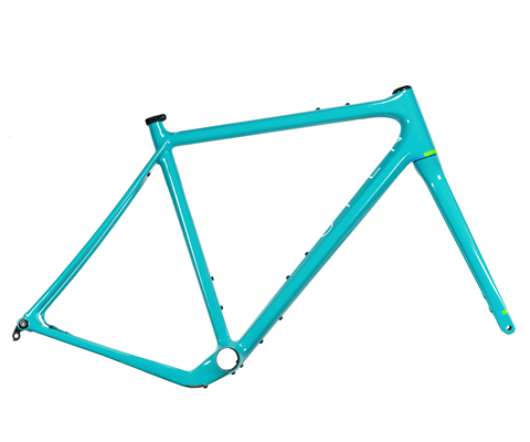 Open Wide Gravel Frame Set Turquoise