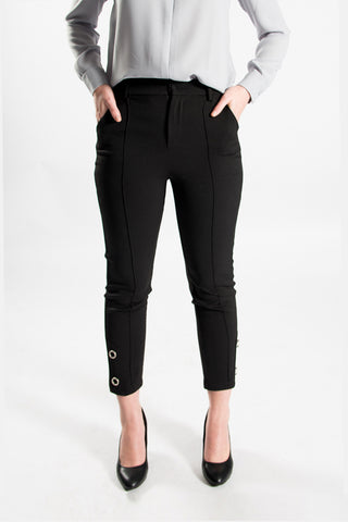 Melody High Waisted Black Pant