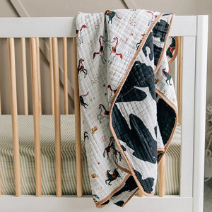 Baby Quilt - Howdy Horse